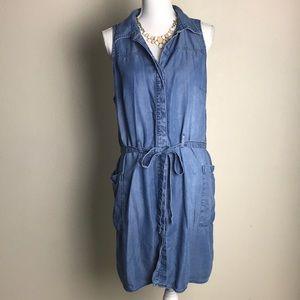 Plus size X denim dress | a new day dress
